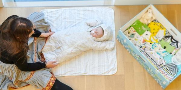ムーミンのベイビー用品【Finnish Baby Box】