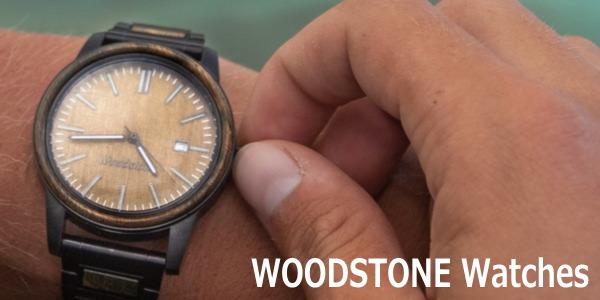 木目を活かした世界に一つだけの木製腕時計【WOODSTONE Watches】
