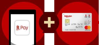 エントリーして、お支払い元を楽天カードに設定のうえで楽天ペイアプリでお支払いするだけ!