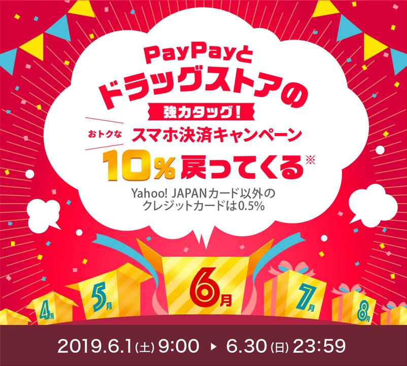 PayPayとドラッグストアの強力タッグで最大20%還元!