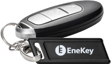 ENEOS(エネオス)専用のキャッシュレス端末「EneKey(エネキー)」