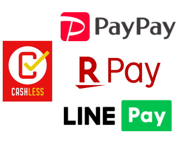 PayPay、楽天ペイ、LINE Payのキャッシュレス還元比較