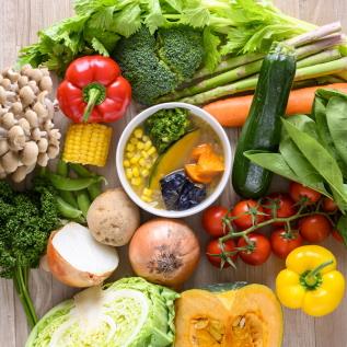 1食分でも15種類以上の野菜が摂れる!