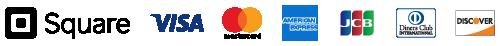 Square(スクエア) 対応クレジットカードブランド