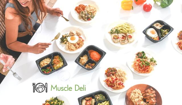 食べながらのダイエットや健康なカラダづくりに最適「マッスルデリ」!