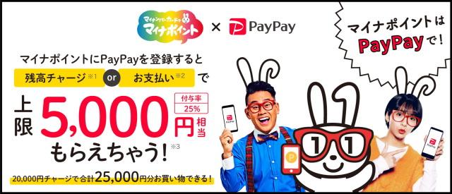 「PayPayアプリ」の中からでも「マイナポイント」の登録が出来るようになりました!