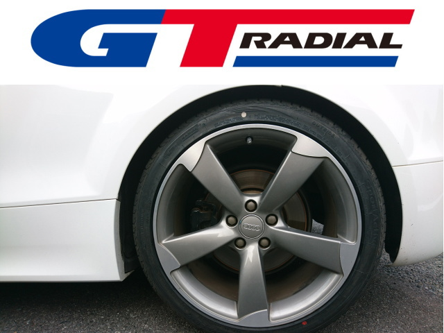 AUDI TT RSのタイヤをミシュランOEMの「GTラジアル」に交換!